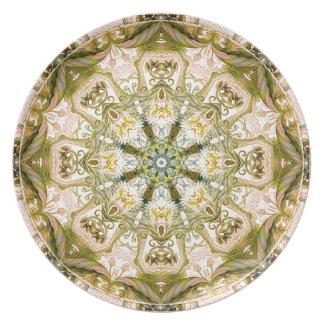 Mandalas vom Herzen der Freiheit 15 Geschenke Melaminteller