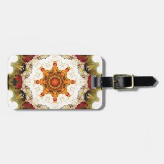 Mandalas vom Herzen der Freiheit 16 Geschenke Gepäckanhänger