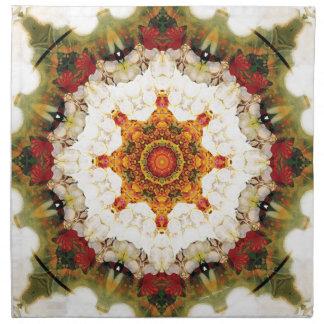 Mandalas vom Herzen der Freiheit 16 Geschenke Stoffserviette
