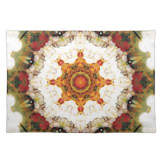 Mandalas vom Herzen der Freiheit 16 Geschenke Tischset