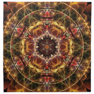 Mandalas vom Herzen der Freiheit 17 Geschenke Stoffserviette