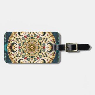 Mandalas vom Herzen der Freiheit 22 Geschenke Gepäckanhänger