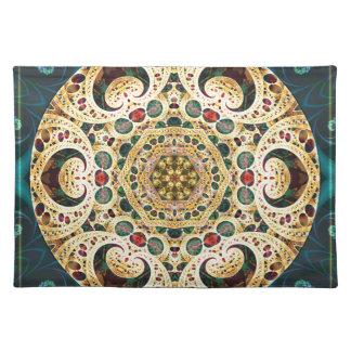 Mandalas vom Herzen der Freiheit 22 Geschenke Tischset