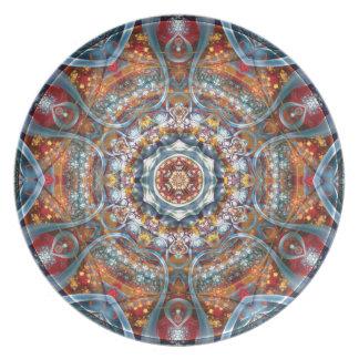 Mandalas vom Herzen der Freiheit 25 Geschenke Teller