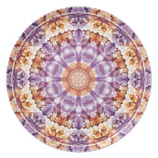 Mandalas vom Herzen von Änderung 19, Melaminteller