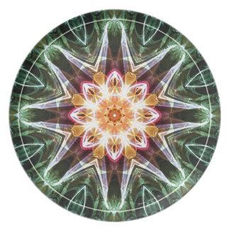 Mandalas vom Herzen von Änderung 5, Teller