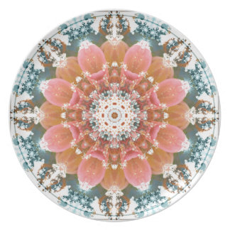 Mandalas vom Herzen von Änderung 9, Melaminteller