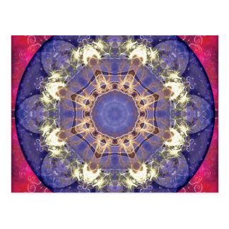 Mandalas von Verzeihen und von Freigabe 16 Postkarte