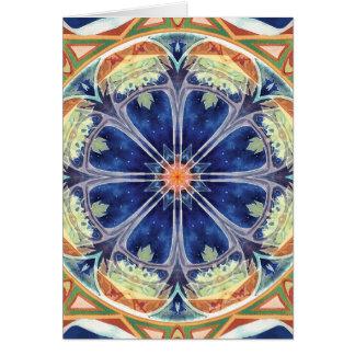 Mandalas von Verzeihen und von Freigabe 8 Karte