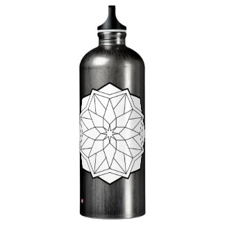 Mandalas Wasserflasche
