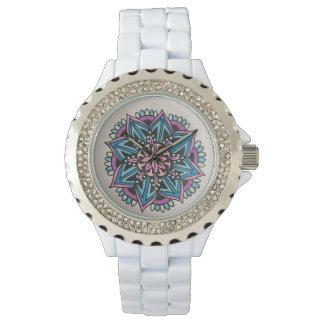 Mandalauhr Weiß Uhr