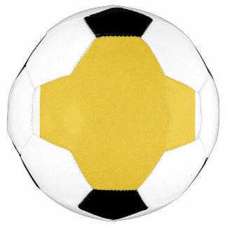 Mandarine-gelber Stern-Staub Fußball