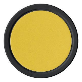 Mandarine-gelber Stern-Staub Poker Chips