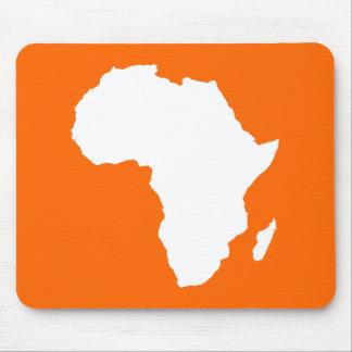 Mandarine kühnes Afrika Mauspads