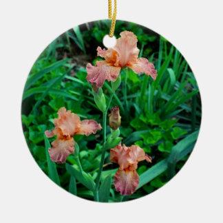 Mandarine-Rhapsodie Keramik Ornament