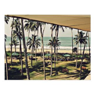 Mandarine-Strand, Sri Lanka Postkarte