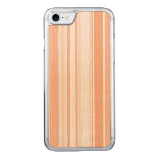 Mandarine-Streifen-mannigfaltige Carved iPhone 8/7 Hülle