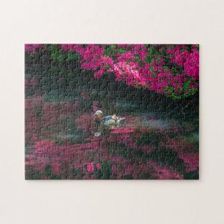 Mandarinenenten-Fotopuzzlespiel Puzzle