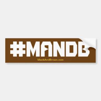 #MandB Autoaufkleber