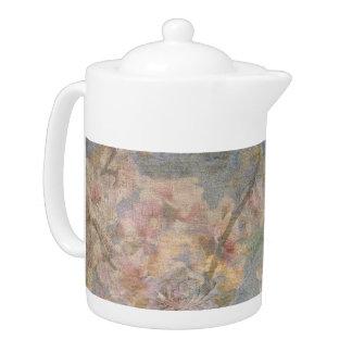 Mandel-Blüten-Tapisserie-Teekanne