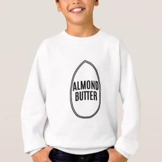 Mandel-Butter innerhalb einer Mandel Sweatshirt