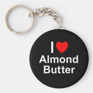 Mandel-Butter Schlüsselanhänger