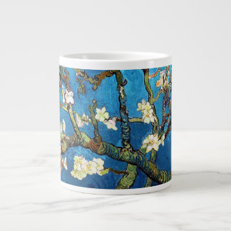 Mandelbaum-schöne Kunst Van Gogh blühende Jumbo-Tasse