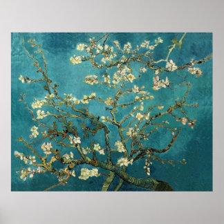 Mandelbaum-schöne Kunst Van Gogh blühende Poster