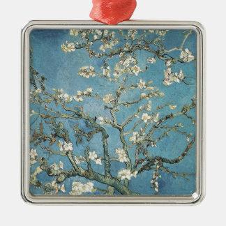 Mandelniederlassungen Vincent van Goghs | in Quadratisches Silberfarbenes Ornament