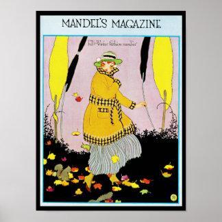 Mandels Zeitschrift Poster