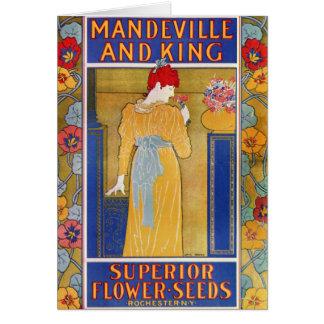 Mandeville und Königsamenkatalog Karte