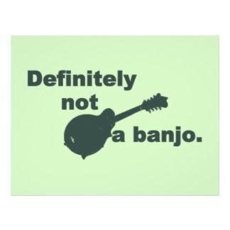 Mandoline -- Bestimmt nicht ein Banjo Flyer