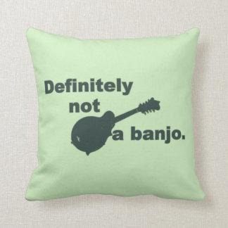 Mandoline -- Bestimmt nicht ein Banjo Kissen