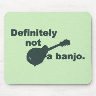 Mandoline -- Bestimmt nicht ein Banjo Mousepad