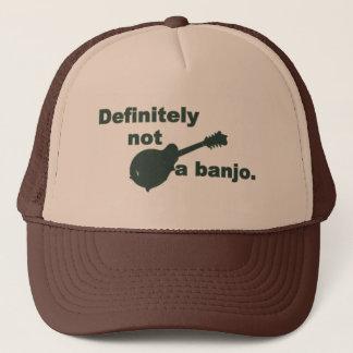 Mandoline -- Bestimmt nicht ein Banjo Truckerkappe
