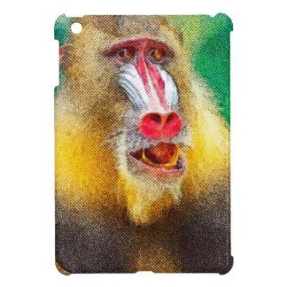 Mandrill, gemalte Version Hüllen Für iPad Mini