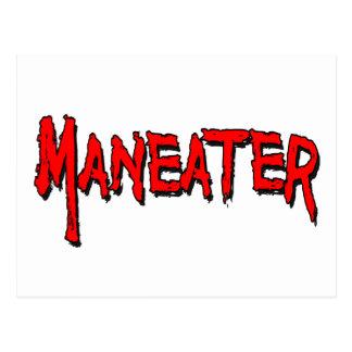 Maneater Postkarte