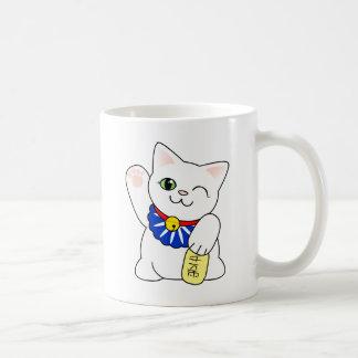 Maneki Neko glückliche Katze Kaffeetasse