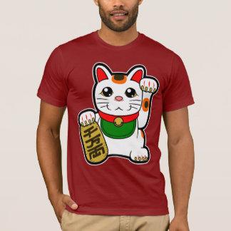 Maneki Neko: Japanische glückliche Katze T-Shirt