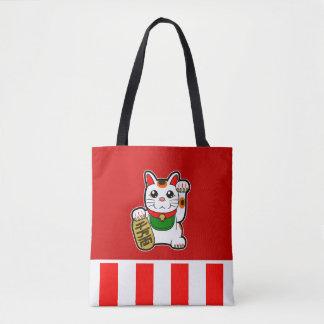 Maneki Neko: Japanische glückliche Katze Tasche
