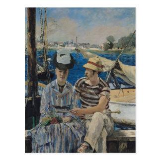 Manet   Argenteuil, 1874 Postkarte