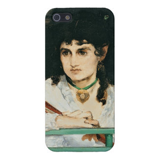 Manet | der Balkon, Detail, 1868-9 iPhone 5 Etui