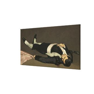 Manet | der tote Toreador, c.1864 Leinwanddruck