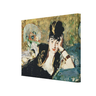Manet | die Dame mit Fächern Leinwanddruck