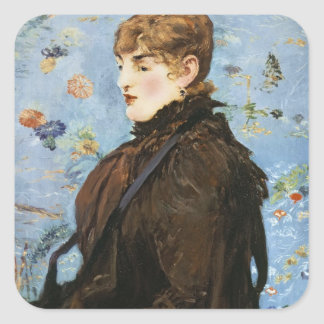 Manet | Herbst, 1882 Quadratischer Aufkleber