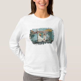 Manet   Monet in seinem sich hin- und T-Shirt