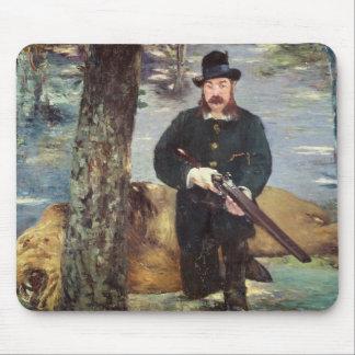 Manet | Pertuiset, Löwe-Jäger, 1881 Mousepad