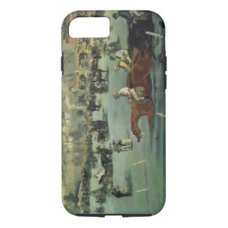 Manet   Pferderennen, 1872 iPhone 8/7 Hülle