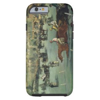 Manet   Pferderennen, 1872 Tough iPhone 6 Hülle