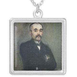 Manet | Porträt von Georges Clemenceau, 1879 Versilberte Kette